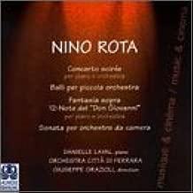 Rota: Concerto Soirée, Piano & Orchestra / Balli for Small Orchestra / Fantasia Sopra 12-Note del Don Giovanni, Piano & Orchestra / Sonata for Chamber Orchestra