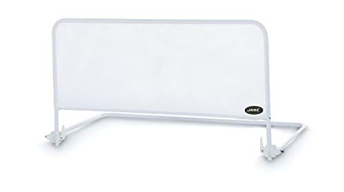 Jané 050211C01 - Barrera de Cama Abatible en Color Blanco, Largo 110 cm