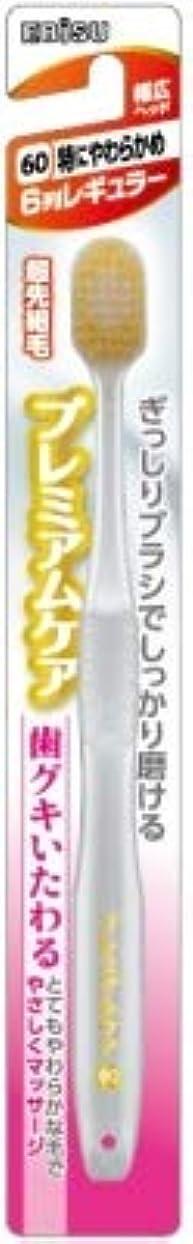 カストディアン把握ケイ素【まとめ買い】プレミアムケア歯グキいたわる6列レギュラー ×6個