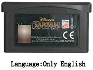 TopFor 32 Bit Handheld Console Video Game Cartridge Card Crash Series Eu Version Disney Tarzan Return