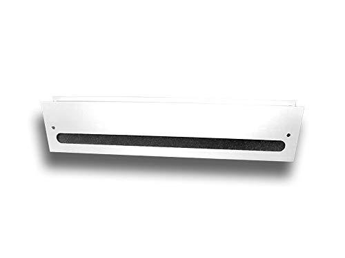 Rejilla de ventilación para puerta con aislamiento acústico de doble...