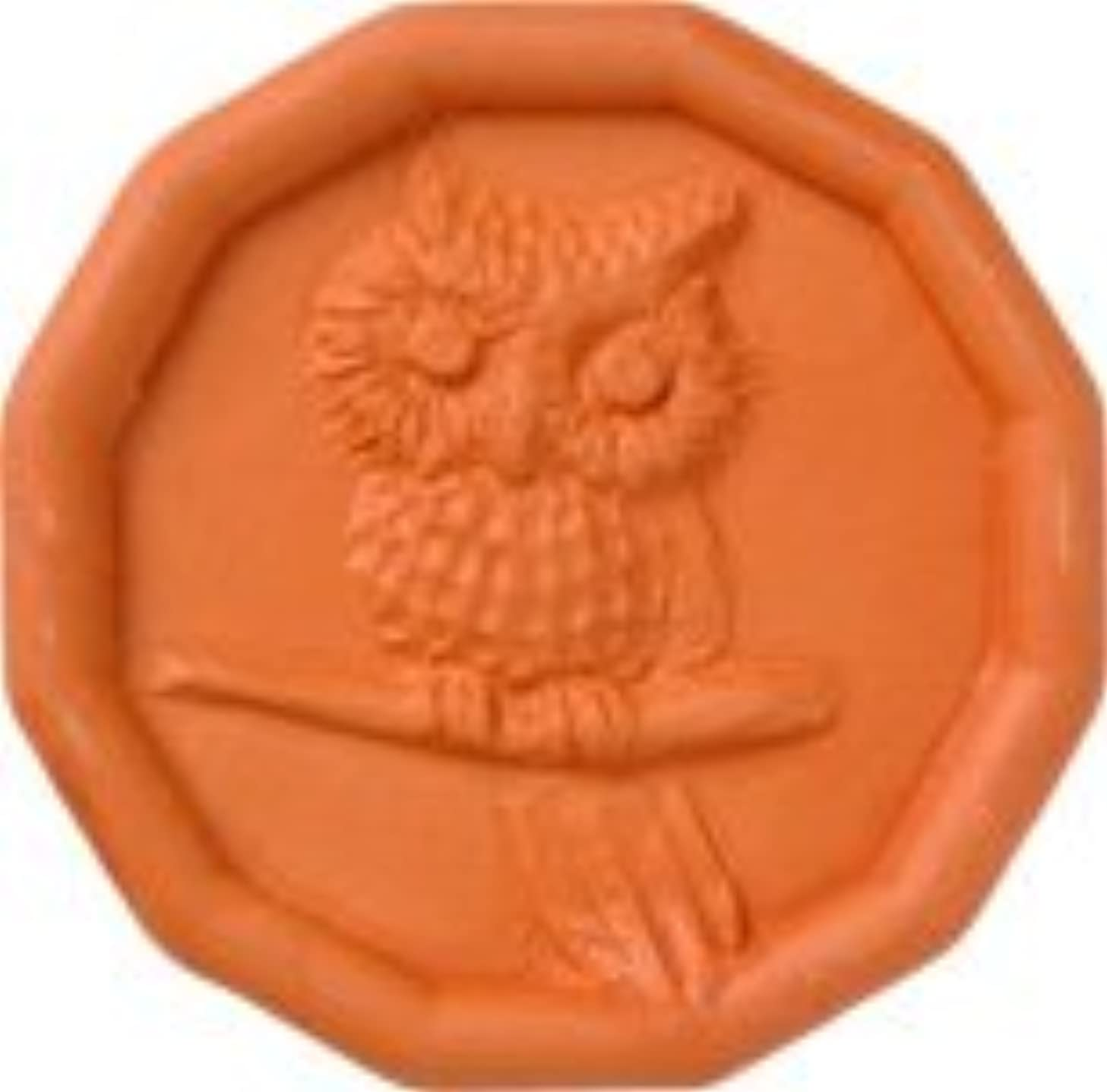 JBK Owl Terra Cotta Brown Sugar Saver (Original Version) (Original Version)