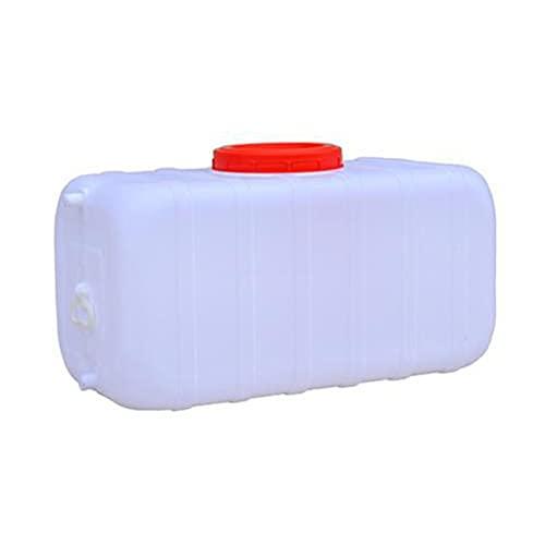 HWhome Blanco 110L Bidón De Agua con Grifo Recipiente De Agua Portátil Coche Tanque De Agua De Emergencia Depósito De Agua Contenedor De Agua