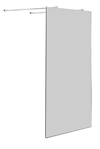 freistehende 10 mm Duschwand AQUOS-Dublo 120 x 200 cm