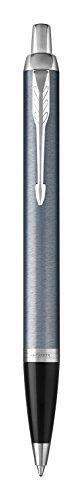 Parker IM Kugelschreiber | Light Blue Grey | Mittlere Spitze | Blau