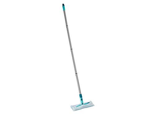Leifheit Set Clean and Away, Bodenwischer für die schnelle Trockenreinigung, inklusive fünf Staubtüchern, Staubwischer mit 360° Drehgelenk, zieht Staub und Haare wie ein Magnet an, mit Click System