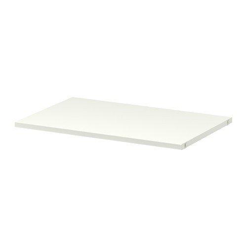 Ikea ALGOT Regalboden für Aufbewahrungssystem; in weiß; (60x38cm)