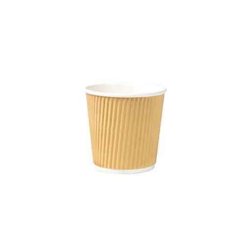 Vasos Cafe Desechables 100Ml Marca Bionatic Spain