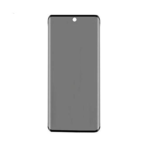 3PCS Panzerglas Privacy Screen Ersatz für Samsung Galaxy S20 6,2 Zoll Sichtschutzfolie Panzerglas, 9H Privacy Schutzfolie Anti-Spy Gehärtetem Glas Blickschutzfolie Sichtschutz gebogen Kanten