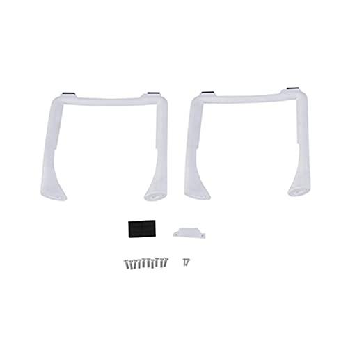 GEBAN 2PCS Kit Carrello di Atterraggio per D&Ji per Phantom 3 Professional Advanced Drone Pezzi di Ricambio Altezza Extender Piedini di Ricambio 3A 3P 3SE Accessori droni (Color : White)