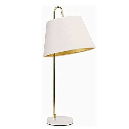 Lámpara de mesa Lámparas de escritorio Lámpara de noche de metal, lámpara de mesa de latón antigua, lámpara de escritorio moderna para dormitorio. Habitación para niños. Lámpara de noche de cristal