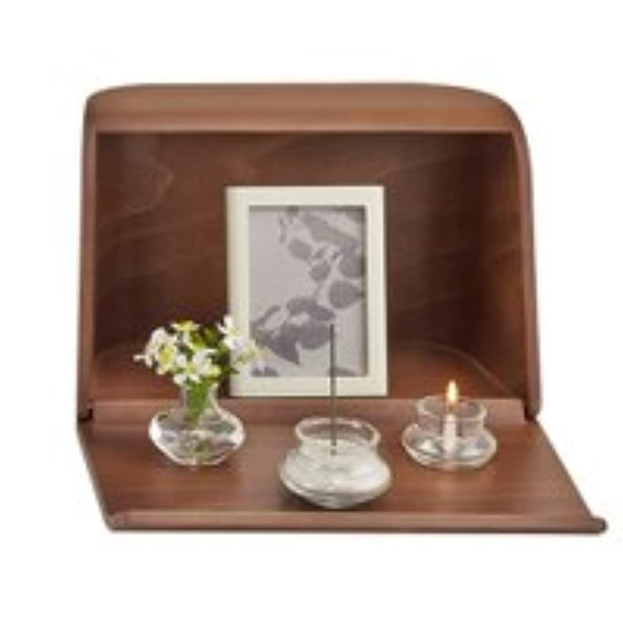 玉用心する低いやさしい時間祈りの手箱ブラウン × 2個セット