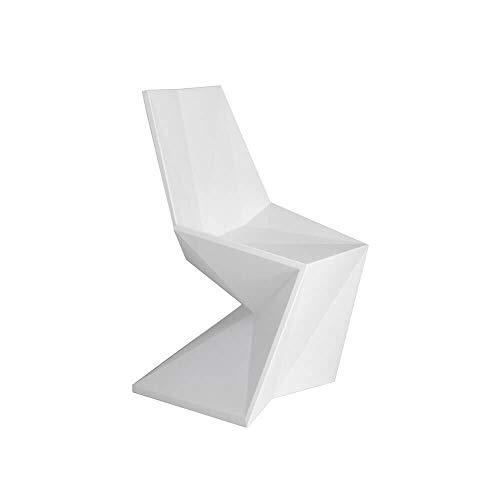 Vondom Vertex Silla Chaise pour l'extérieur Blanche