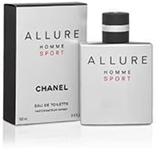 ALLURE HOMME SPORT Eau De Toilette Spray for Men (3.4 Fl OZ) by PARIS HOMME