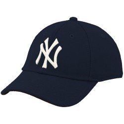 New Era New York Yankees Navy Blue Youth Flexfit Authentic Game Cap