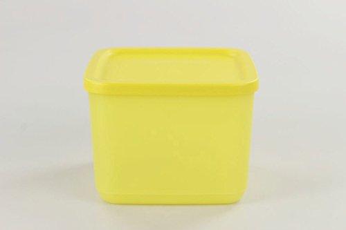 TUPPERWARE Kühlschrank Geburtstagskracher 1,0 L gelb Frischebehälter Dose