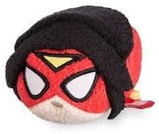 Marvel Disney Store Women of Power Spider Woman Mini Tsum Tsum Plush Toy