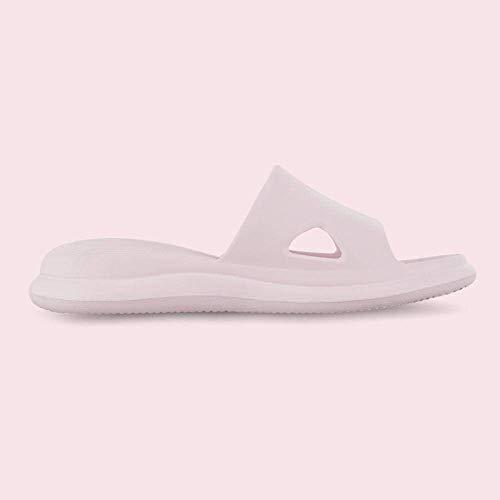 LIUCHANG - Flip Flop, suela gruesa antideslizante desodorante, zapatillas de baño de suela suave, 38-39_rosa claro, zapatos de playa de piscina liuchang20