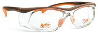 SAFETY GLASSES - WITH DEMO LENSES - SAFETY FRAME ONLY WITH PERMANENT SIDE SHIELDS