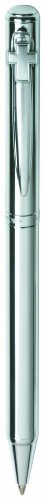 Marquis by Waterford Polished Chrome Twist Action Ball Pen with Cross Emblem (WM 712 CHR CE)