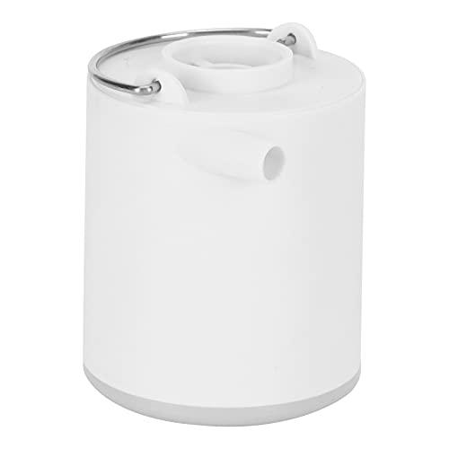 Hyuduo Bomba de Aire portátil, Herramienta para Acampar 2 en 1, Bomba infladora para Acampar con luz LED para Cama Inflable para Acampar
