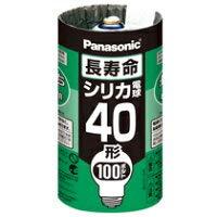パナソニック 長寿命シリカ電球 100V 40W E26口金 LW100V36WL