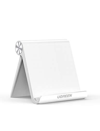 UGREEN タブレットスタンド 卓上 スマホホルダー iPadスタンド 折りたたみ式 角度調整可能 4-10インチに対...