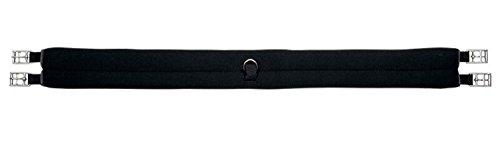 Kavalkade Sattelgurt Neopren schwarz, schwarz, 130 cm