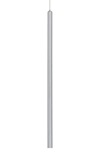 Lámpara colgante ORGANO 120 cromo - LED, metal, simple y elegante, fuente de luz LED