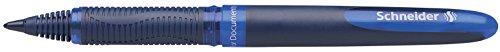 Schneider One Business Tintenroller (Dokumentenecht, 0.6 mm Ultra-Smooth-Spitze) blau