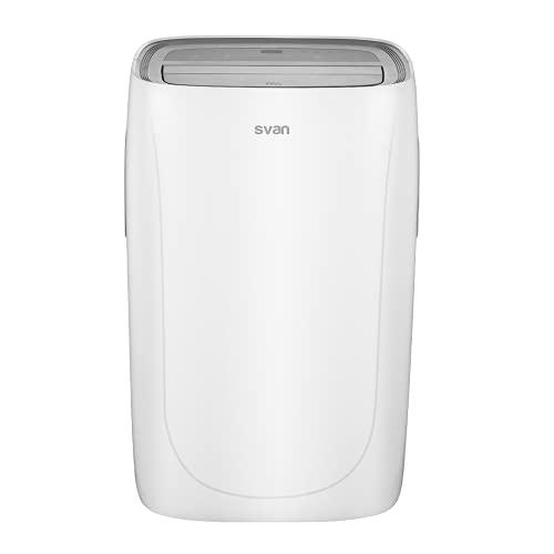 Svan SVAN212PF Condizionatore Portatile 12000 BTU A Bianco, Plastic
