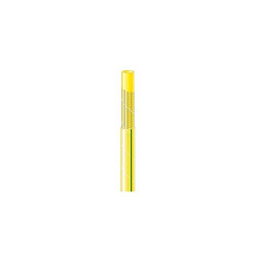 Tuyau d'arrosage TUBIROLL tricoté antivrille jaune L25m Ø25mm