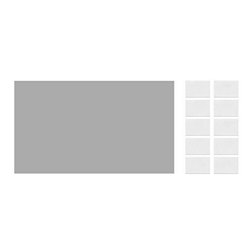 Jacksking Projektionsleinwand, Faltbare 16: 9 HD-Projektionsleinwand 3D-Film Tragbare Bildschirmvorhänge Videofilme Kinoleinwand für Heimkino im Innen- und Außenbereich(84 in)