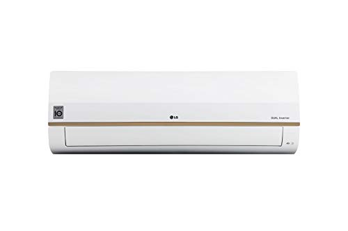 LG 1.5 TR 4 Star Convertible 4-in-1 Cooling, Copper ThinQ Wi-Fi, Voice Control Inverter Split AC...