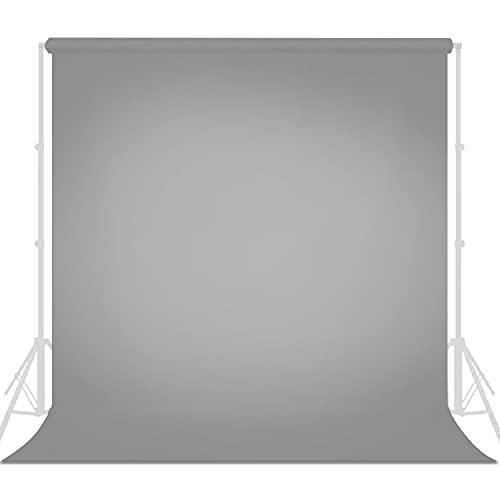 LimoStudio 10  x 20  Photo Video Studio Seamless Solid Gray Muslin Backdrop Photo Studio Background, AGG3211