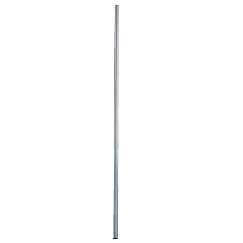 Skyrevolt Antennenmast 2 m ALU, 50 mm Sat Mast mit Schutzkappe Antenne Montage Stange Stangenrohr NEU