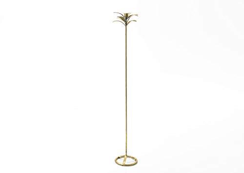 Amadeus - bougeoir Or en métal Feuille h100 cm