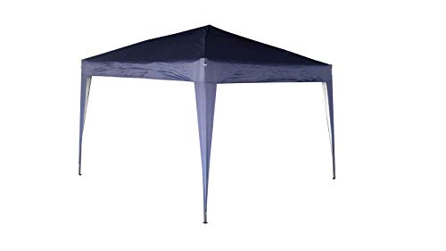 Mcc@home 2x2m Pop-up Gazebo Waterproof Outdoor Garden Marquee Canopy (NS) (Blue)