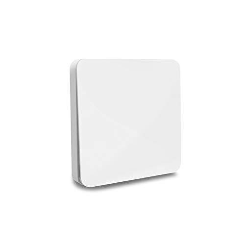 Funkschalter Licht Funk Schalter Lichtschalter Funkschalter Set Batterielose Wandschalter Aussen Kabellos kinetische Schalter Empfänger für Deckenleuchte Treppenlicht