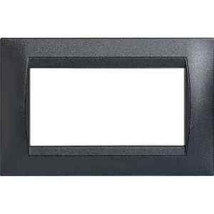 interlink - placca per 4mod living int 120044GR