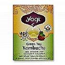Yogi Tea Organic Teas Green Tea Kombucha 16 Bags [並行輸入品]