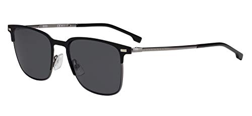BOSS ORANGE Hugo Sonnenbrille BOSS1019S-003IR-54 Gafas de sol, Negro (Schwarz), 54.0 para Hombre
