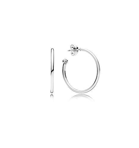 Pandora Damen Klassische Creolen Sterling Silber 297727