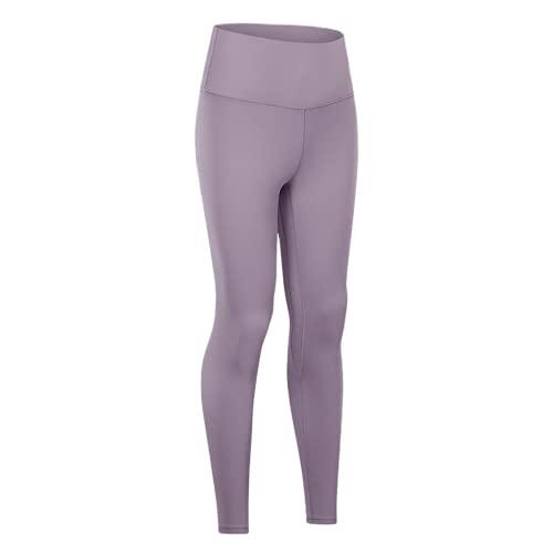 QTJY Pantalones de Yoga de Cintura Alta para Mujer, Leggings, Pantalones de Fitness al Aire Libre, Pantalones Deportivos elásticos de Secado rápido, Pantalones de Yoga FS