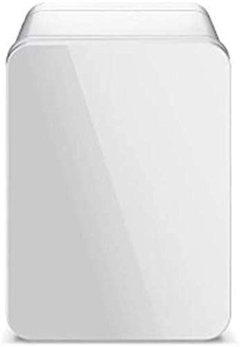 Mini-Kühlschrank 4L kleines Auto Kühlschrank, Mini-Kühlschrank Auto-Haus Dual-Use Studentenwohnheim Kosmetische Maske kalte und warme Box, Kühlbox, Weiss XIUYU (Color : White)