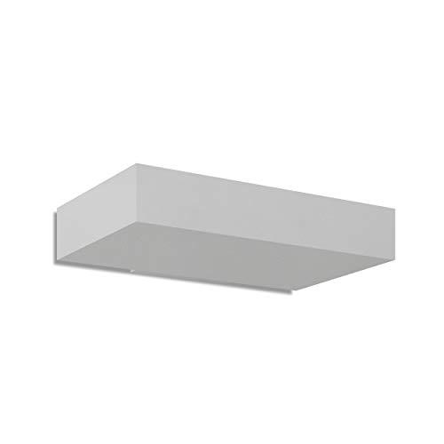 Zéro Deux LED 26 W contemporaine gris clair
