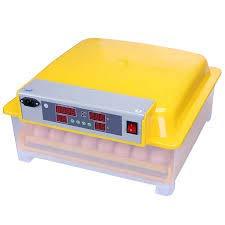 TM&W Automatic Intelligent Egg Hatcher Digital Hatching 24 Eggs Incubator Chicken (WQ-24, Yellow)