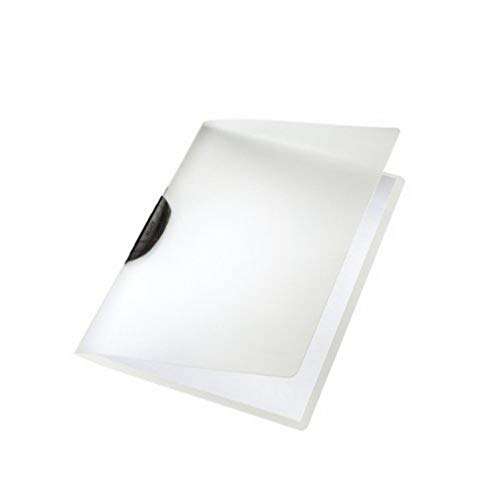 Leitz 41750095 Klemmmappe ColorClip, A4, PP, 6er Packung, schwarz