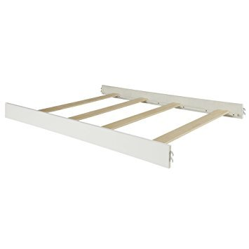Full Size Conversion Kit Bed Rails for Oxford Baby Cribs (Vintage White)