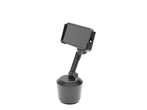 WeatherTech CupFone with Extension, Cell Phone Holder for Car, Phone Mount - Universal Cup Holder Fit